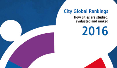 City Global Rankings Map