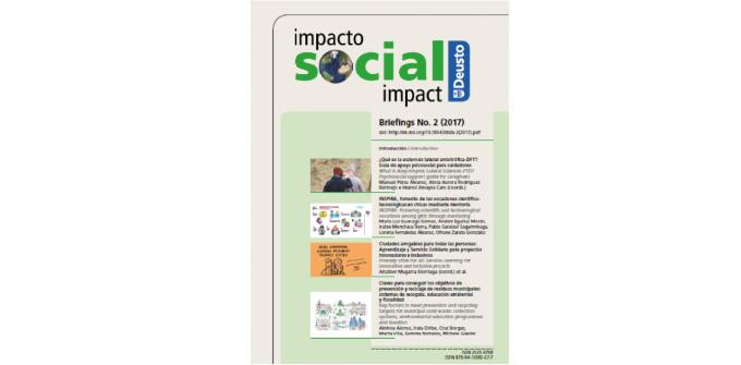 2018_10_25 The second edition of DEUSTO Social Impact Briefings